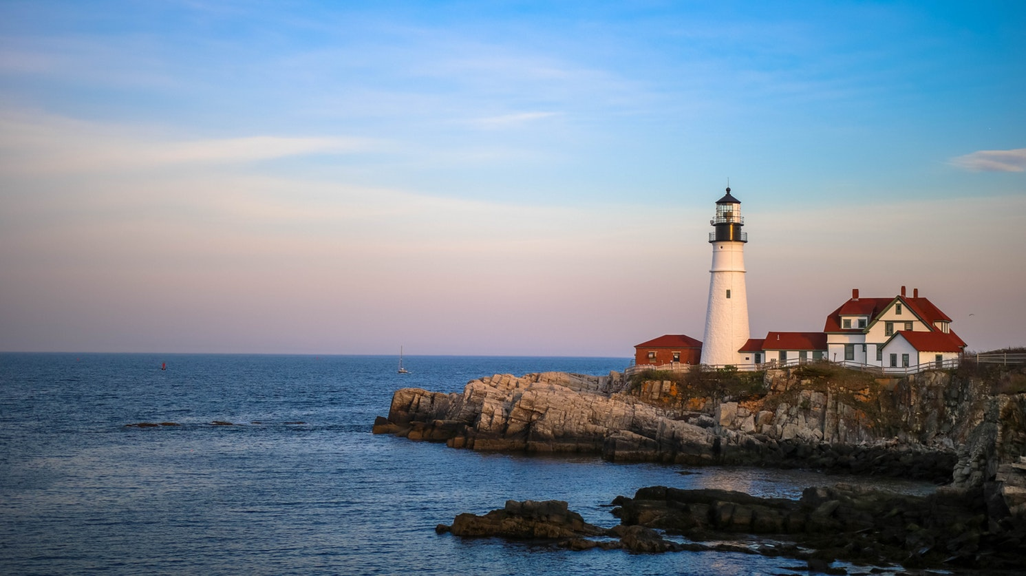 Two Lights State Park and Portland Head Light